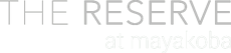 The Reserve - Logotipo grises blanco