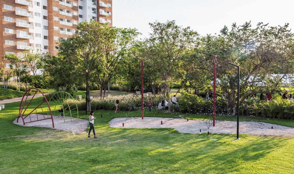 areas verdes y parques merida