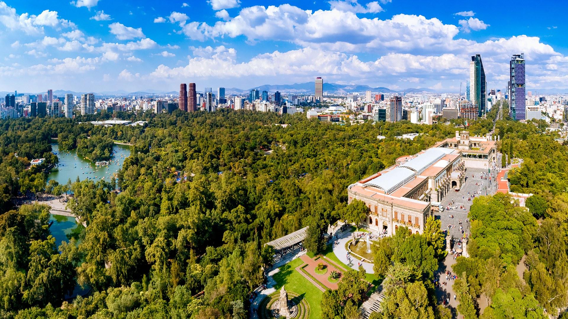 chapultepec parque ciudad mexico