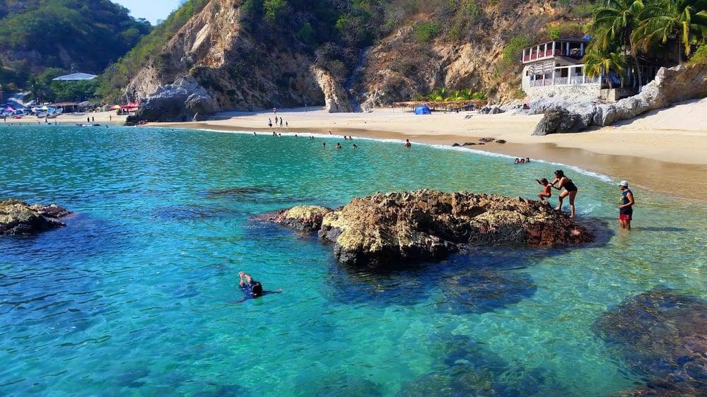 playa azul michoacan playa mexico