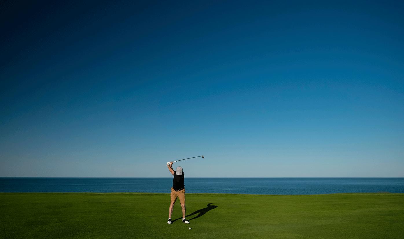 medidas para el regreso del golf